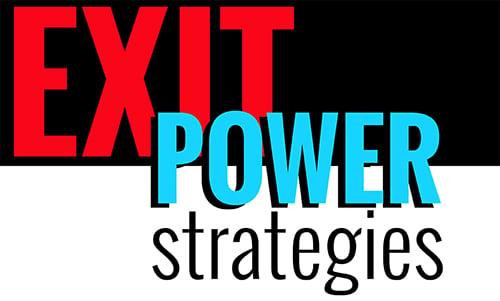 Exit Power Strategies Retina Logo